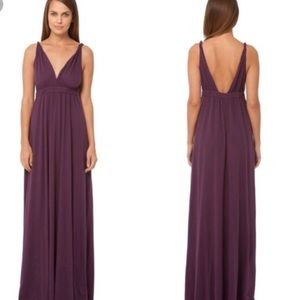 Gypsy 05 plum purple maxi dress